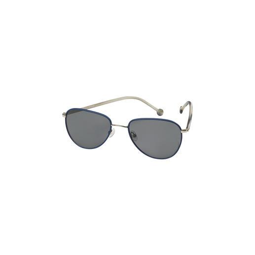 Monkeyglasses® leren zonnebril De zonnebril met leer bekleed rvs frame en poten van katoenacetaat. Exclusief van Monkeyglasses®.