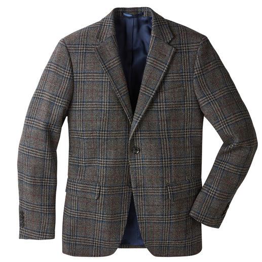 German Tweed®-colbert met glenchekdessin Zeer stijlvol tweedcolbert, geweven in Duitsland. Klassieke glencheckruiten. Lichte, soepele, zachte stof.