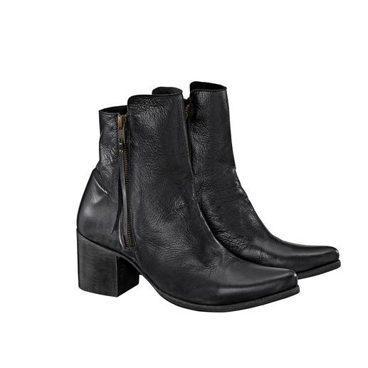 Liberty Black Cowboy Boots Hippe cowboylaarzen, handgemaakt en gezoomd in Mexico. Van de western-laarzenspecialist: Liberty Black.