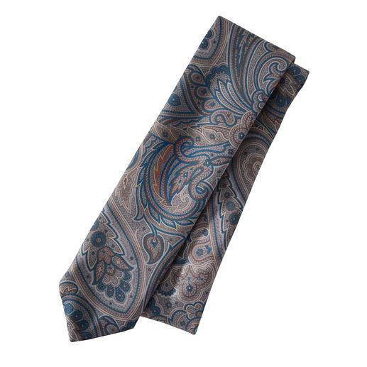 alpi stropdas met paisleydessin Met klassiek paisleydessin: de allrounder bij beige, bruin, blauw, grijs en zwart.