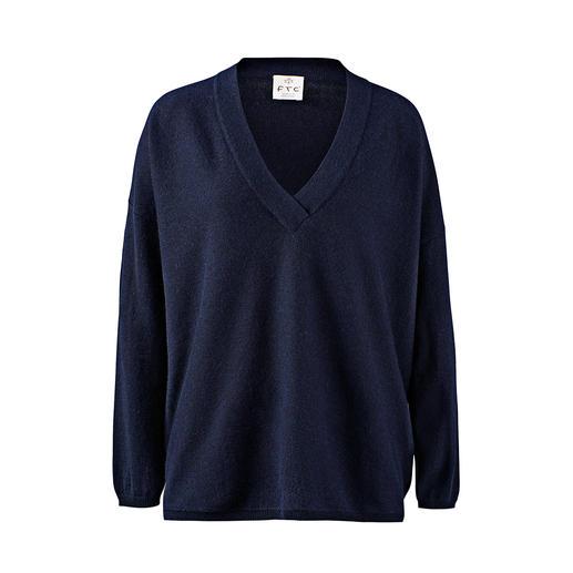 FTC SeaCell®Cashmere trui met V-hals SeaCell®Cashmere: soepelzacht dankzij kasjmier. Droog, pluisarm en huidverzorgend dankzij zeealgen.