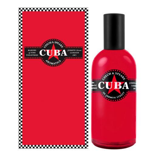 Czech & Speake Cuba eau de cologne, 100 ml Cuba in a bottle: een unieke geur met een Caraïbisch tintje. Voor heren en dames.
