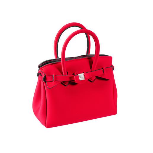 Mini superlichte tas Klassieke look, innovatief materiaal: deze superlichte handtas weegt slechts 215 gram. Made door Save My Bag.