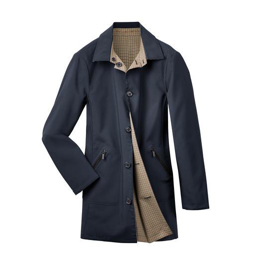 Karl Lagerfeld keerbaar mantel Praktische (maar ook topmodieuze) designer-mantel die aan beide kanten is te dragen, van Karl Lagerfeld.