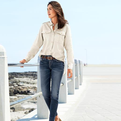 Aigle functionele fashion-blouse Zo modieus casual kan een functionele outdoor-blouse zijn. Van Dry-fast®-stof met UV-bescherming. Van Aigle.