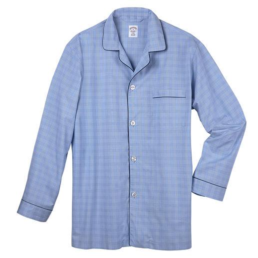Brooks Brothers Supima-pyjama Voelt zachter aan en ziet er langer goed uit: verzorgde pyjama van uniek Supima®-katoen.