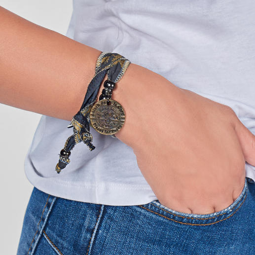 Hakuna Matata-armband 'Alles is goed': bijzonder accessoire van Zuid-Afrikaanse 'zonnestof'.