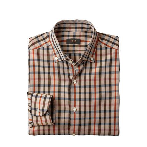 DAKS geruit overhemd housecheck Draag niet zomaar ruiten – maar de originele housecheck van DAKS London.