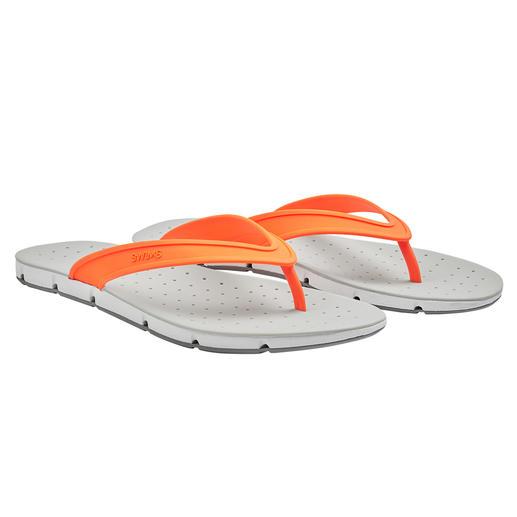 SWIMS badslippers 'Breeze' Gun uw voeten wat lucht. Deze badslippers 'Breeze' zorgen zelfs voor lucht aan de onderkant van de zolen.