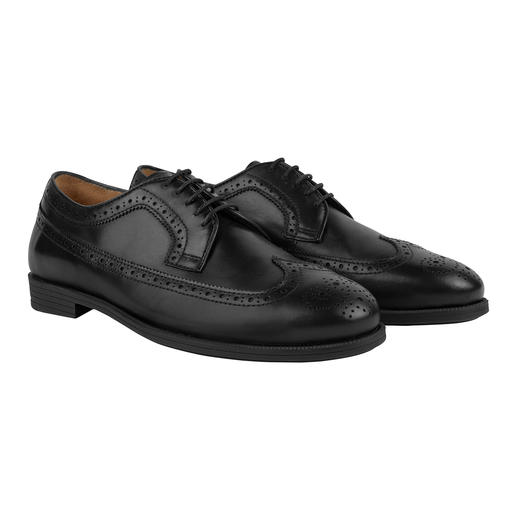 businessbrogues, zwart
