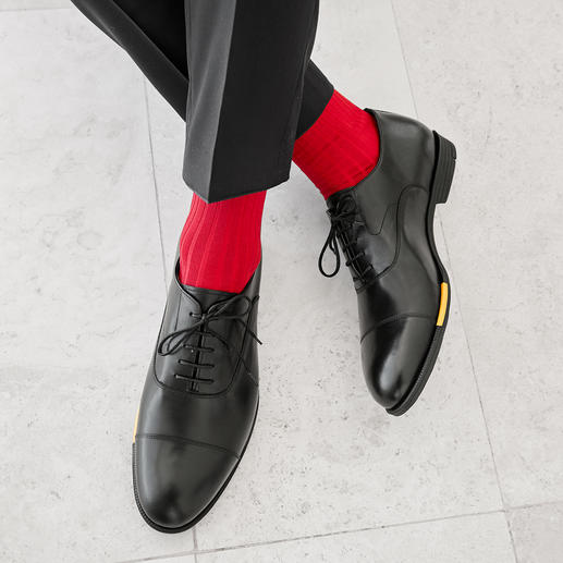 businessschoenen in oxford-stijl, zwart