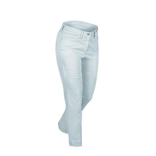 RAPHAELA-BY-BRAX broek met 'magische' band, bleu Zeer comfortabel: broek met 'magische' band van RAPHAELA-BY-BRAX.
