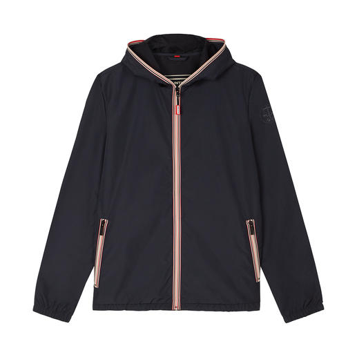 Hunter heren windbreaker Handzaam. Licht. Waterafstotend. De modieuze pocket-windbreaker van Hunter.
