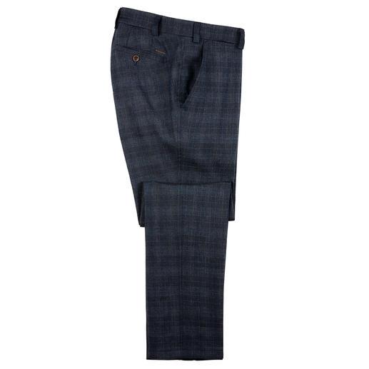 Eurex by Brax pantalon in linnenmix Luchtig maar niet te casual: de linnen broek die u ook naar het werk kunt dragen.