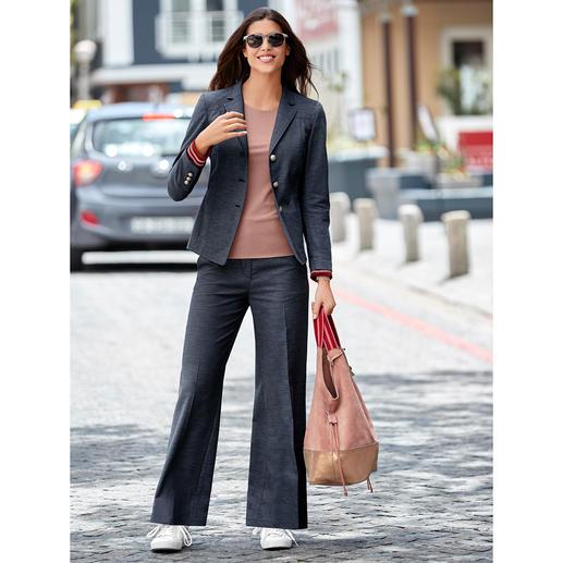 Benbarton jeanspak-colbert of -broek Serieus genoeg om zakelijk te dragen. Nonchalant genoeg voor je vrije tijd.