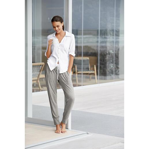 Casual pyjama De nieuwe generatie pyjama's: clean, modern en in een casual athleisure-stijl.