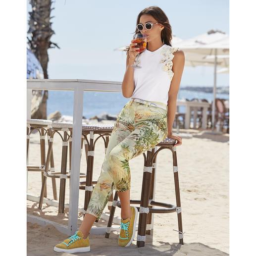 RAPHAELA-BY-BRAX toverbandbroek, palm Waarschijnlijk uw meest comfortabele broek: de toverbandbroek van RAPHAELA-BY-BRAX.