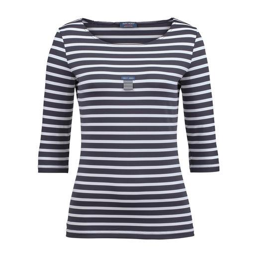 Bretagne-shirt Het originele Bretagne-shirt. Visserstraditie sinds de 19e eeuw. Van Saint James, uit Frankrijk.