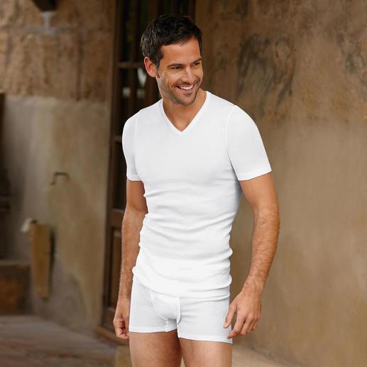 Hanro ondergoed, heren Zwitsers ondergoed van Hanro– al meer dan 130jaar onovertroffen.