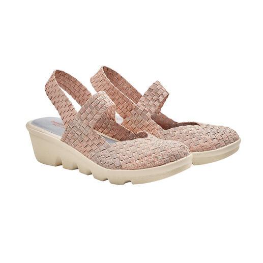 bernie mev. gevlochten sleehakschoenen Comfortabeler, lichter en luchtiger worden modieuze zomerschoenen gewoon niet. Van bernie mev.
