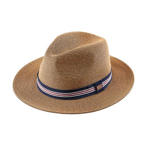 Bailey papieren hoed Licht als stro, maar veel flexibler en robuuster. Unieke papieren hoed van Bailey of Hollywood.