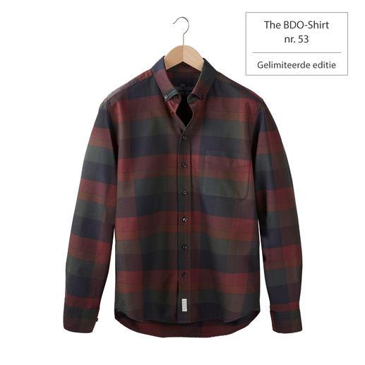 The BDO-shirt, Limited Edition No.53 Ontdek een goede oude vriend. En vergeet dat een overhemd moet worden gestreken.