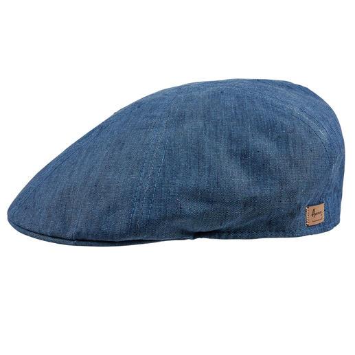 Linnen pet Houdt uw hoofd koel dankzij zuiver, ongevoerd linnen. Pet van Herman Headwear.