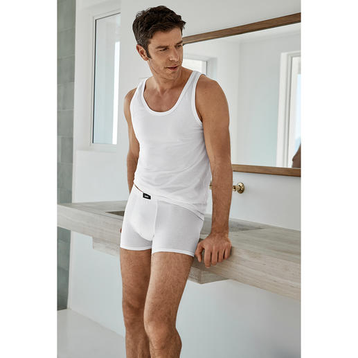 hemd en onderbroek, wit