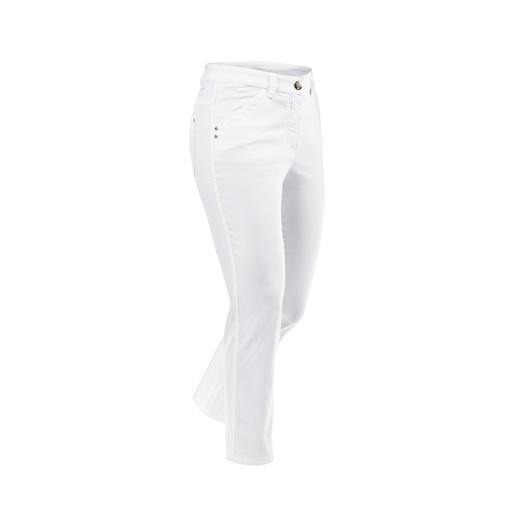 Magic 7/8-zomerbroek De katoenen Magic-broek vormt uw figuur als een corrigerende broek – maar zit desondanks extreem comfortabel.