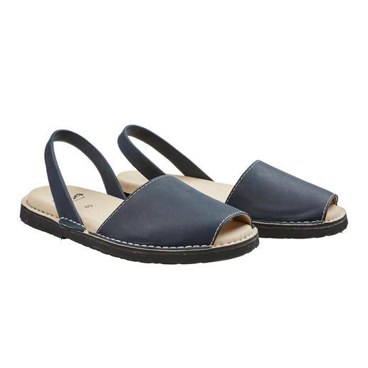 Avarcas de Menorca, heren Traditionele Menorca-sandalen: met de hand gemaakt. Perfect voor in de zomer. Originele Avarcas van RIA.