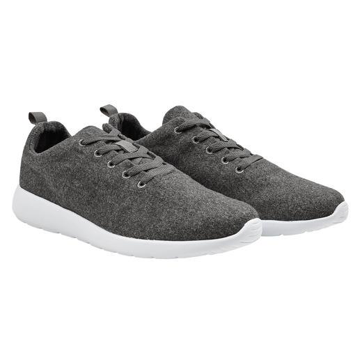 170 g lichte sneakers: vederlichte combinatie van trendy wolwalk en EVA-schuim. 170 g lichte sneakers: vederlichte combinatie van trendy wolwalk en EVA-schuim.