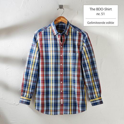 The BDO-shirt, Limited Edition No.51 Ontdek een goede oude vriend. En vergeet dat een overhemd moet worden gestreken.