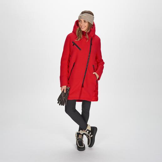 Goldbergh sportief coutureparka en softshell-broek Sportieve streetwear of trendy sportswear? Beide! Van Goldbergh, de Nederlandse favoriet van de modebladen.