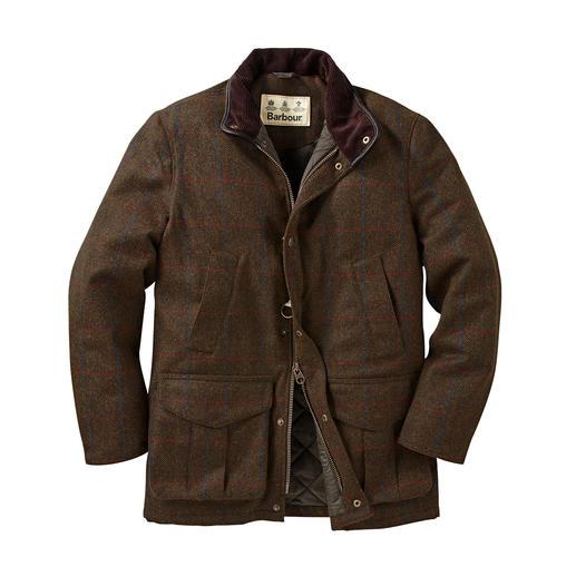 Barbour hunting jacket 2.0 - De gentleman-klassieker in een nieuwe stijl: hunting jacket van waterdicht tweed. Van Barbour.
