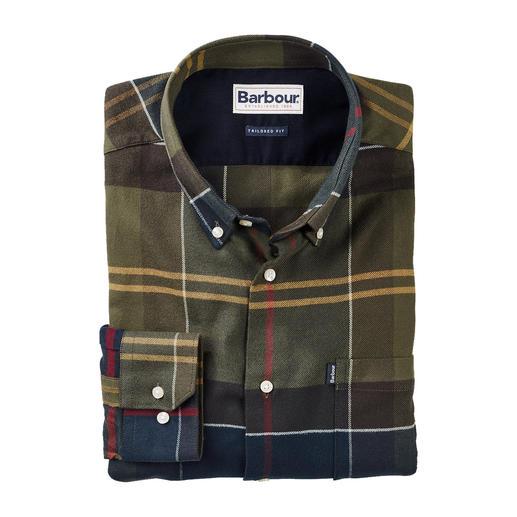 Barbour tartan-overhemd  van licht flanel Het onmiskenbare Barbour House-tartan op ongelooflijk zacht flanel.