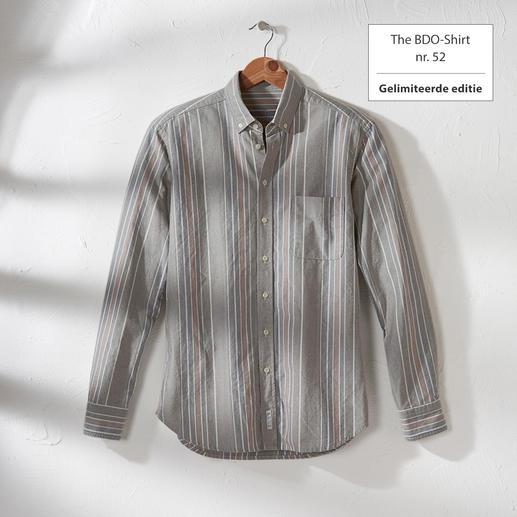 The BDO-shirt, Limited Edition No.52 Ontdek een goede oude vriend. En vergeet dat een overhemd moet worden gestreken.