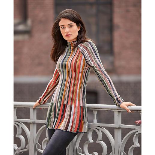 MMissoni trui met  turtleneck De aparte, fijngebreide trui van de Italiaanse stekenmeester: M Missoni.