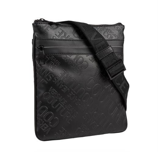 Versace Jeans Couture logo bag Modieuze logoprint. Praktisch cross body-formaat met plek voor al uw belangrijke spulletjes.