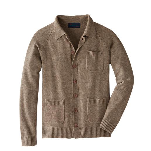 Carbery stijlvol vest Fijne yakwol, kasjmier en Ierse breikunst maken dit vest zo bijzonder.