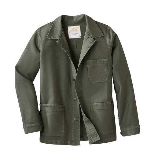 Mont Saint Michel workwear jacket Vandaag de dag een trendy modeklassieker in modieuze workwear-stijl.