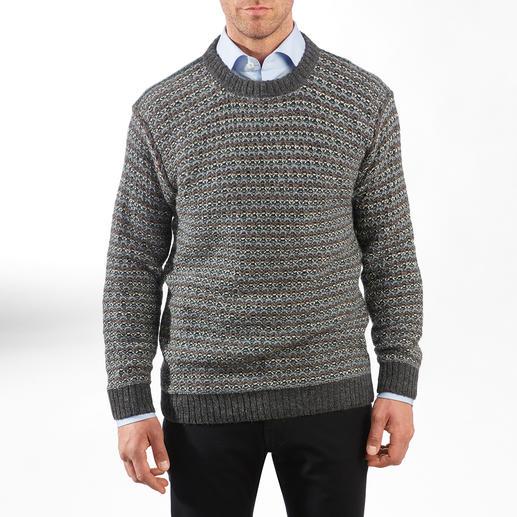 7-kleurige trui van alpacawol