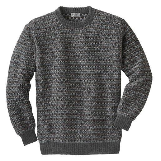 7-kleurige trui van alpacawol Exclusieve breimode uit de Andes, geen massaproduct uit het Verre Oosten.