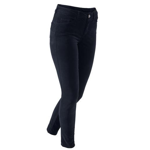 LiuJo jeans Bottomup  fluweelbroek Weinig five-pocket jeans laten uw achterste er zo sexy uitzien als de 'Bottom up' van Liu Jo Jeans, Italië.