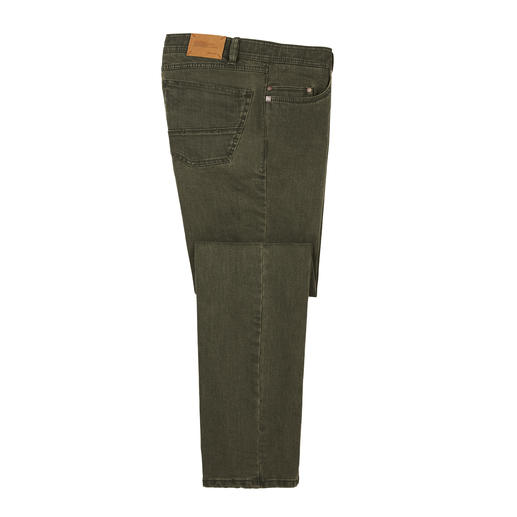 Coloured denim flex jeans Stevige 10 ounce denim – en toch zo comfortabel