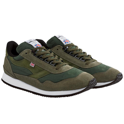 Norman Walsh  wax-cotton- sneakers Waterdicht en ademend dankzij wax-cotton. Van de specialist in sportschoenen Norman Walsh.