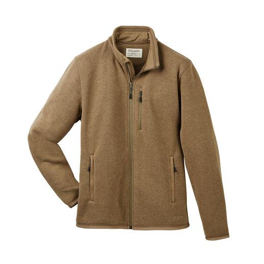 Filson Polartech®-vest Buiten klassiek-elegante tricotage. Binnen lichte, prettig verwarmende Polartech®-fleece.