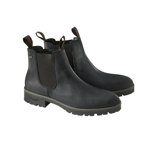 Dubarry Waterproof Chelsea boot, zwart De permanent waterdichte Chelsea boot van echt leer. Van Dubarry of Ireland.
