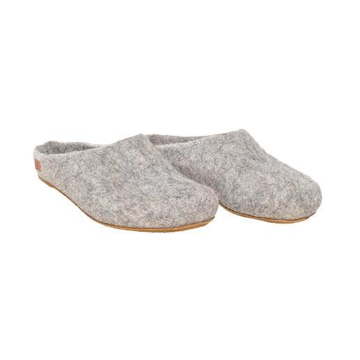 Magicfelt pantoffels van alpacawol