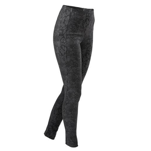 Luxe legging van kunstleer van specialist en trendlabel Janice & Jo, Frankrijk. Luxe legging van kunstleer van specialist en trendlabel Janice & Jo, Frankrijk.