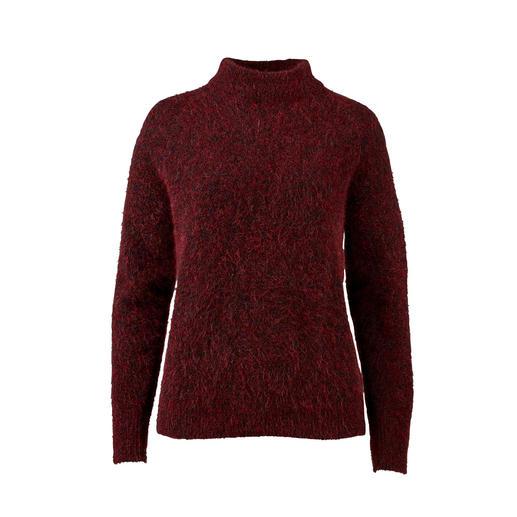 Johnnylove mohairtrui Minder pluisjes, meer modieuze uitstraling: de mohair pullover van Johnnylove uit Noorwegen.